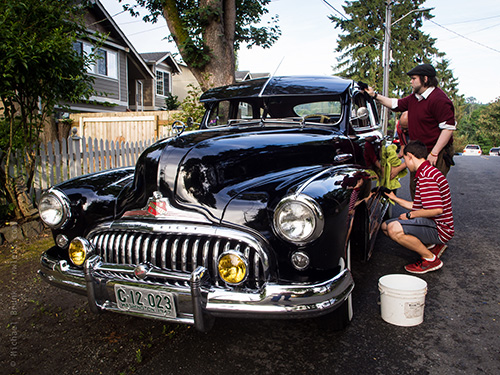 Men in Black car. Photo by Michael Brunk / nwlens.com