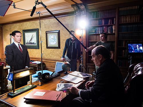 From the set. Photo by Michael Brunk / nwlens.com.