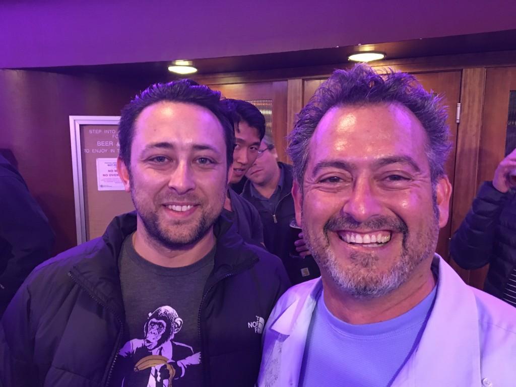 Jason McKee and Juan Mas, local directors of Washington Filmworks incentive project Z NATION. Photo credit: Washington Filmworks
